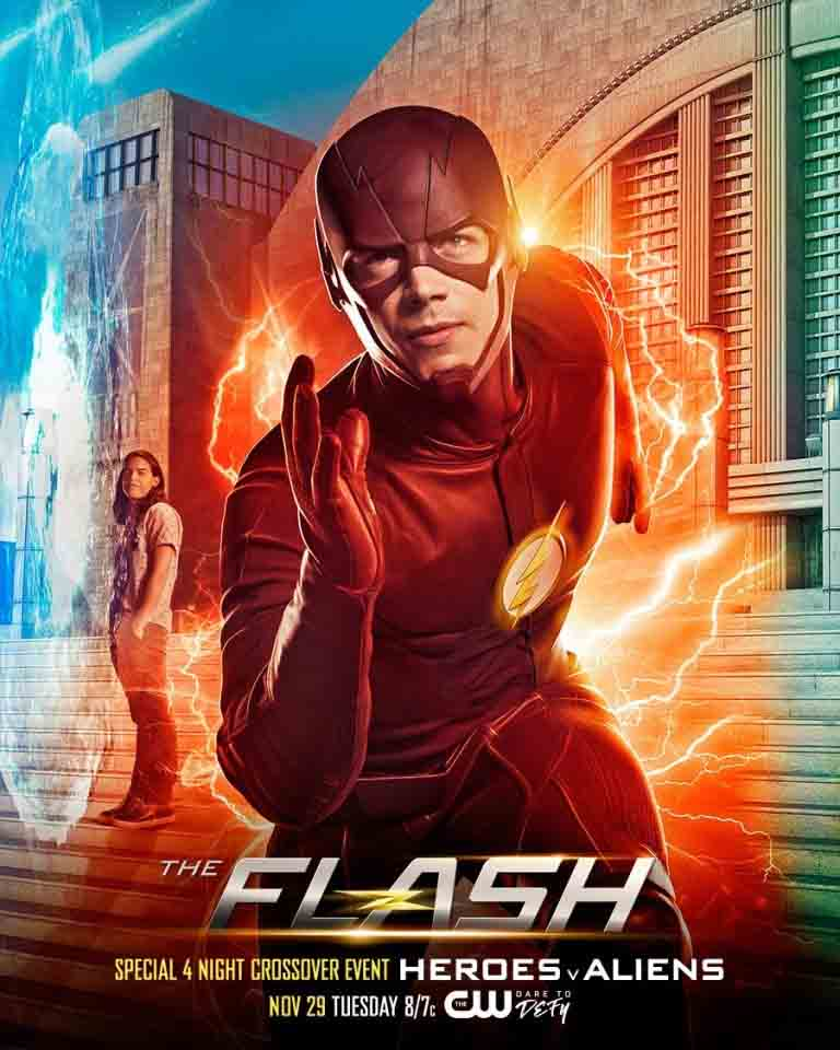 3- The Flash<br/> &amp;nbsp;