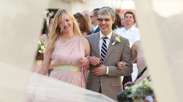 17- Larry Page ve Lucy Southworth