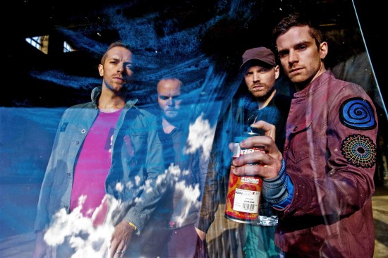 "Coldplay'den üçüncü single: ""Oceans"""