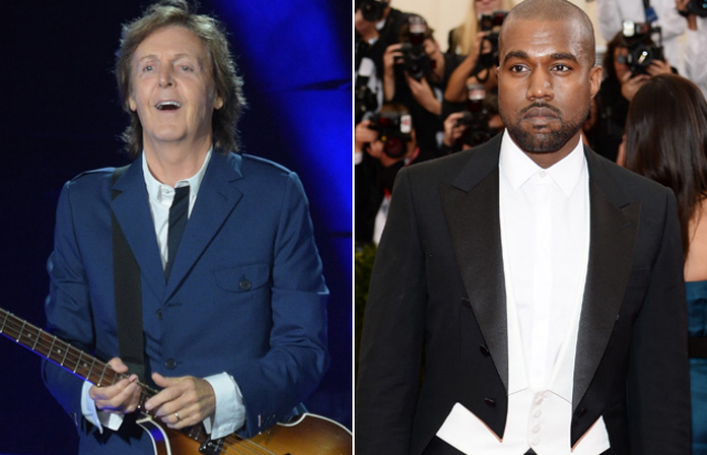 McCartney, Kanye West ile kayıtta mı?