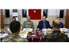 Fast breaking meal with soldiers in Cizre