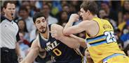 Enes Kanter'den 'double double'