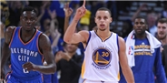 Warriors'a Thunder da 'dur' diyemedi!