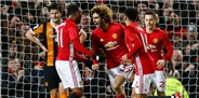 Manchester United - Hull City: 2-0