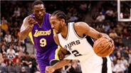 San Antonio Spurs'ten Los Angeles Lakers'a 40 sayı fark