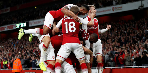 Arsenal-Leicester City: 4-3