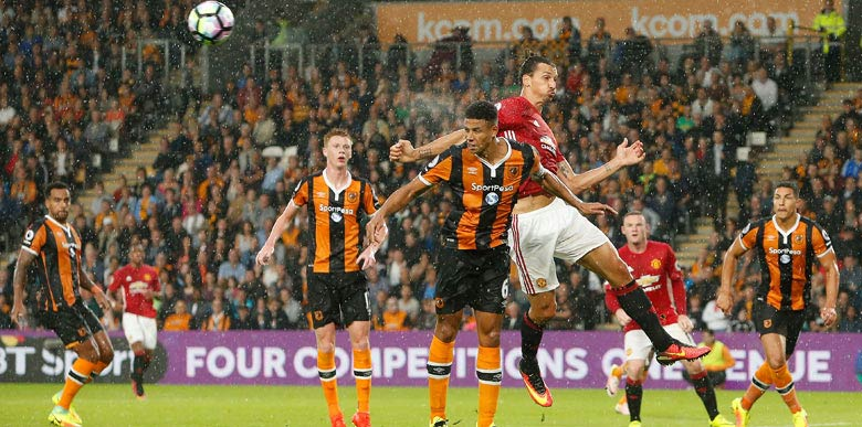 Hull City - Manchester United: 0-1