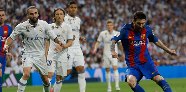 Real Madrid - Barcelona: 2-3