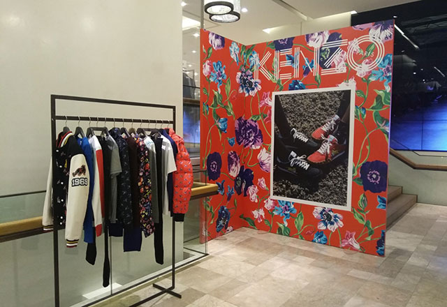 Kenzo pop up store Zorlu Center'da